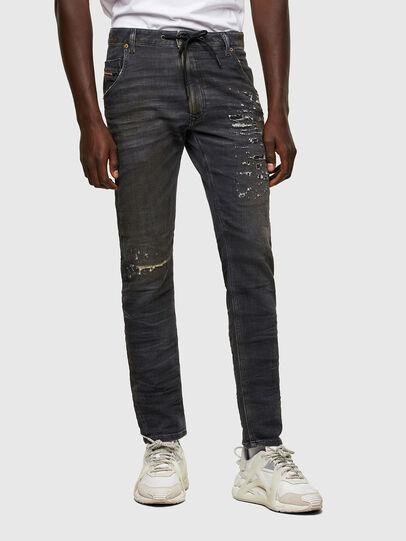Diesel - Krooley JoggJeans® 069SX, Nero/Grigio scuro - Jeans - Image 1