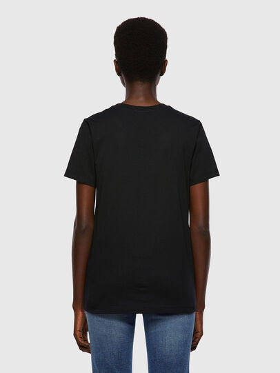 Diesel - T-SILY-B2, Nero - T-Shirts - Image 2