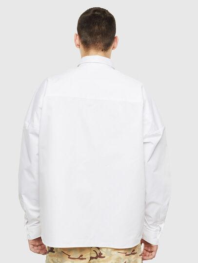 Diesel - S-LOOMY, Bianco - Camicie - Image 2