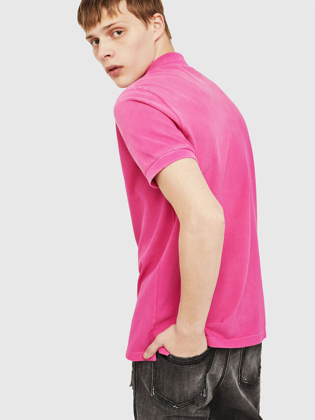 Diesel - T-NIGHT-BROKEN, Fucsia - Polo - Image 2