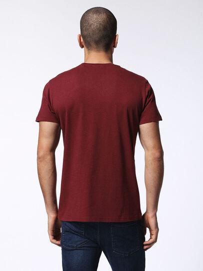 Diesel - T-DIEGO-MZ, Borgogna - T-Shirts - Image 2