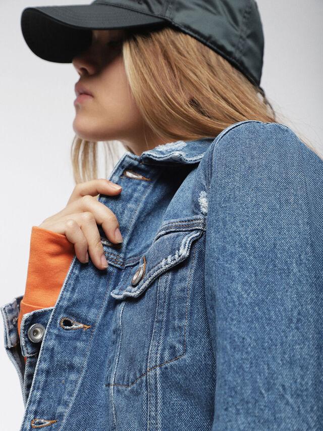 Diesel - DE-VELVET, Blu Jeans - Giacche in denim - Image 5