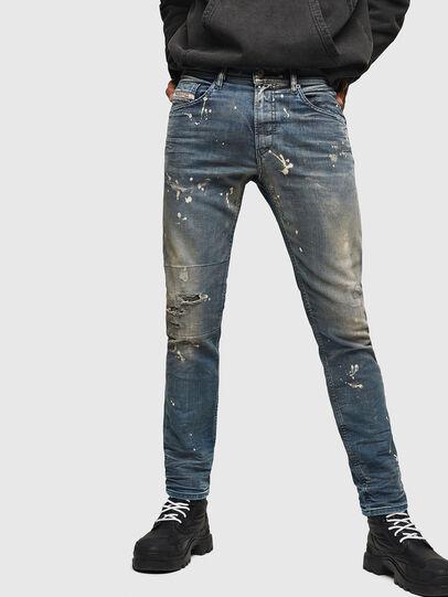 Diesel - Thommer JoggJeans 0870X, Blu medio - Jeans - Image 1