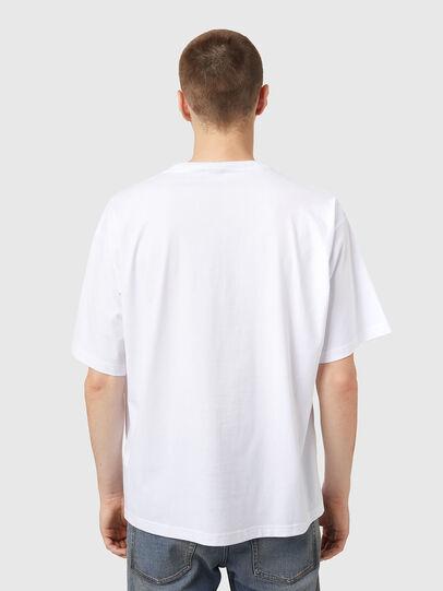 Diesel - T-BALM, Bianco - T-Shirts - Image 2