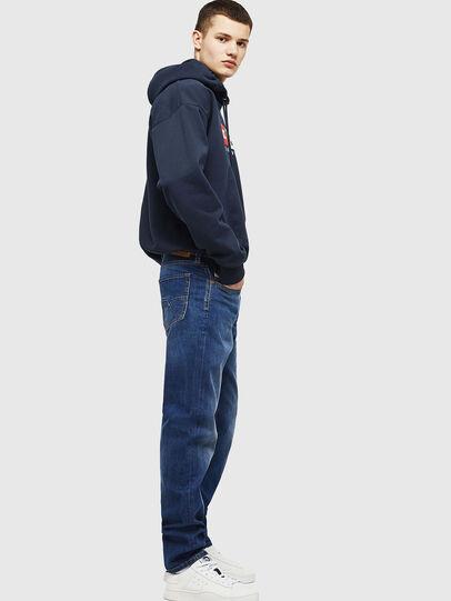 Diesel - Larkee-Beex 082AZ, Blu Scuro - Jeans - Image 5