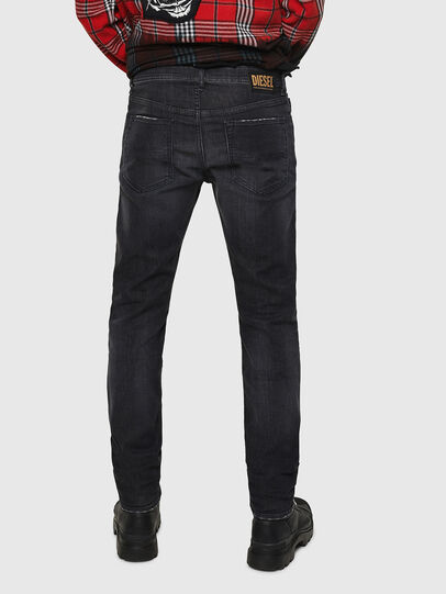 Diesel - Buster 082AS, Nero/Grigio scuro - Jeans - Image 2