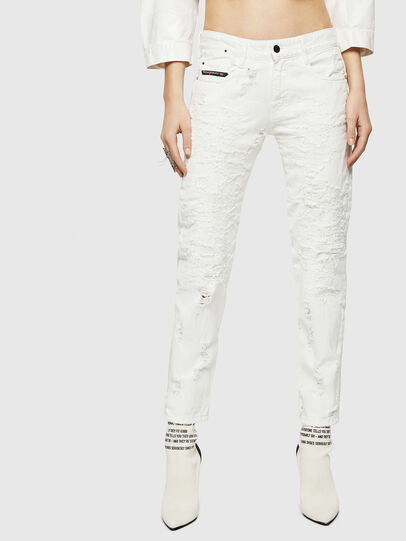 Diesel - D-Rifty 069GY, Bianco - Jeans - Image 1