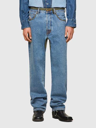 Diesel - DxD-P2 0CBBI, Blu Chiaro - Jeans - Image 2