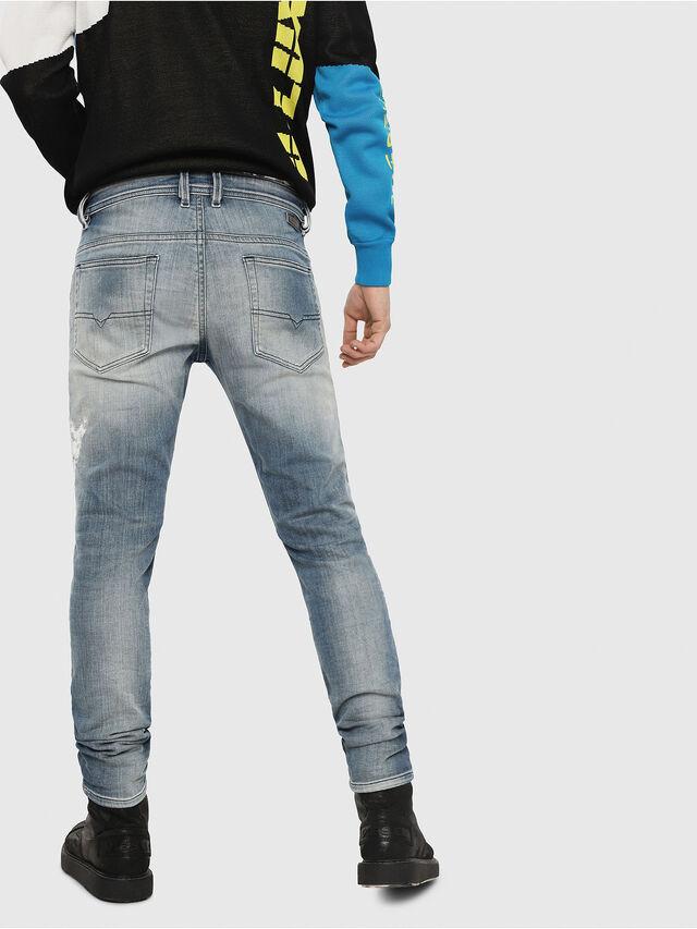 Diesel - Thommer JoggJeans 8880T, Blu Chiaro - Jeans - Image 2