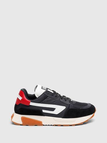 Sneaker stile running con logo D