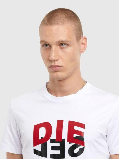 Diesel - T-DIEGOS-N22, Bianco - T-Shirts - Image 3