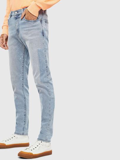 Diesel - D-Strukt 009BP, Blu Chiaro - Jeans - Image 5