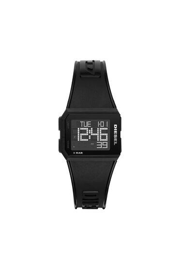Orologio digitale Chopped trasparente nero