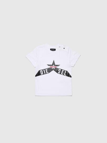 Diesel - TDIEGOA7B, Bianco - T-shirts e Tops - Image 1