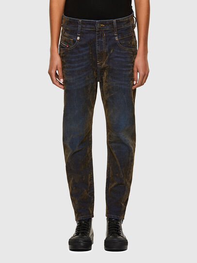Diesel - Fayza 069RQ, Blu/Giallo - Jeans - Image 1