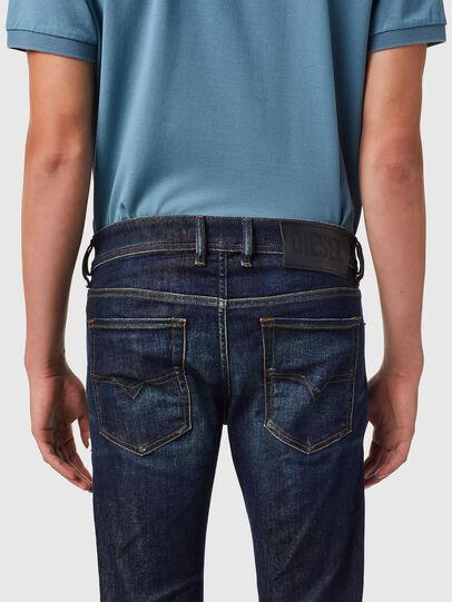 Diesel - Sleenker 09B07, Blu Scuro - Jeans - Image 5