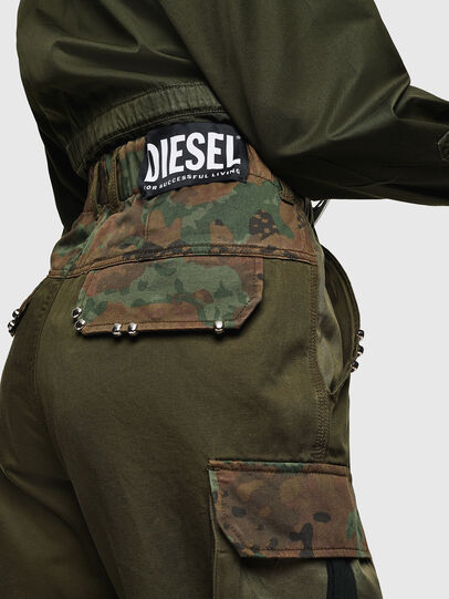 Diesel - P-THENA-A, Verde Camo - Pantaloni - Image 2