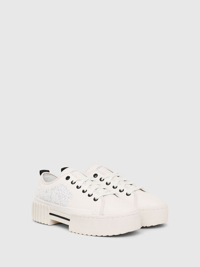 Diesel - S-MERLEY LOW, Bianco - Sneakers - Image 2