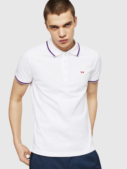 Diesel - T-RANDY-NEW, Bianco - Polo - Image 1