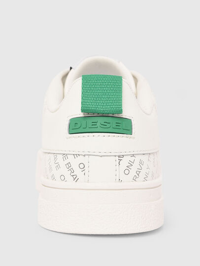 Diesel - S-CLEVER LOW LACE, Bianco/Verde - Sneakers - Image 5