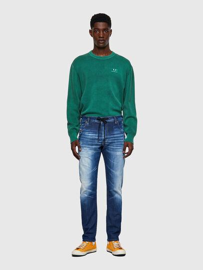 Diesel - Krooley JoggJeans® 09B52, Blu medio - Jeans - Image 5