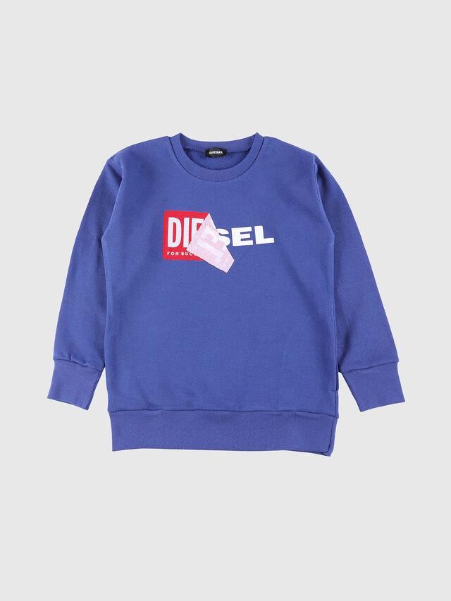 Diesel - SALLY OVER, Blu Ceruleo - Felpe - Image 1
