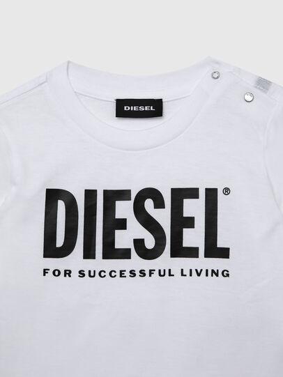 Diesel - TJUSTLOGOB ML, Bianco - T-shirts e Tops - Image 3