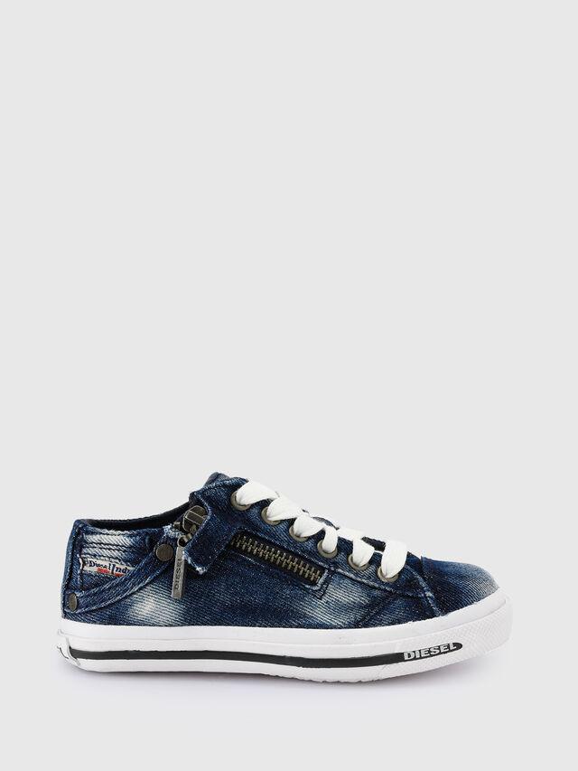 KIDS SN LOW 25 DENIM EXPO, Blu Jeans - Scarpe - Image 1
