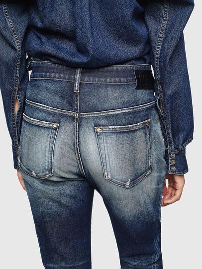 Diesel - Fayza 0092I, Blu Scuro - Jeans - Image 5