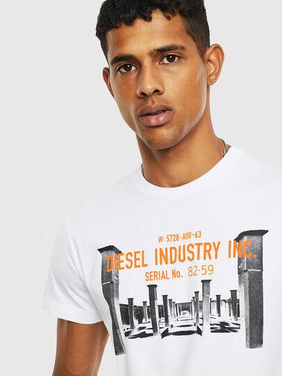 Diesel - T-DIEGO-S13, Bianco - T-Shirts - Image 3