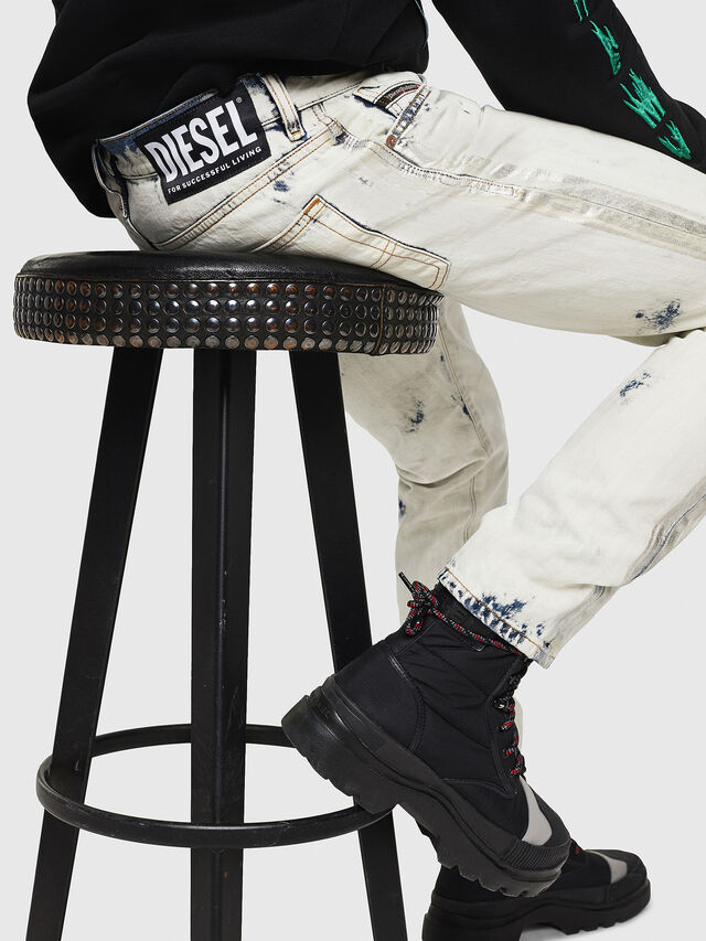 Diesel - Mharky 0890Q, Blu Chiaro - Jeans - Image 4