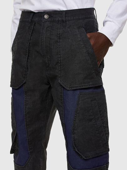 Diesel - D-Eluxerr JoggJeans® 0DDAV, Nero/Grigio scuro - Jeans - Image 3