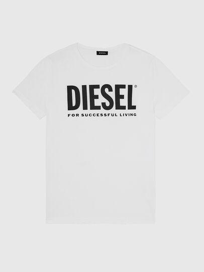 Diesel - T-DIEGO-LOGO, Bianco - T-Shirts - Image 1