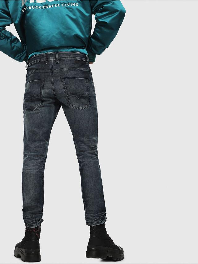 Diesel - Krooley JoggJeans 087AI, Blu Scuro - Jeans - Image 2