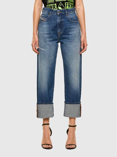 Diesel - D-Reggy 0097B, Blu medio - Jeans - Image 1