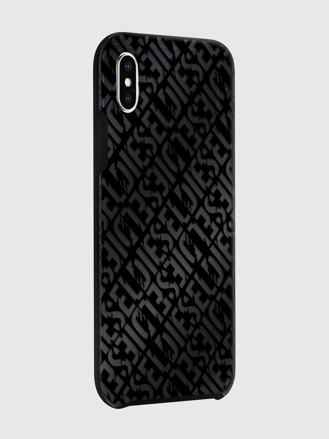 Diesel - DIESEL PRINTED CO-MOLD CASE FOR IPHONE XS MAX, Nero - Cover - Image 6
