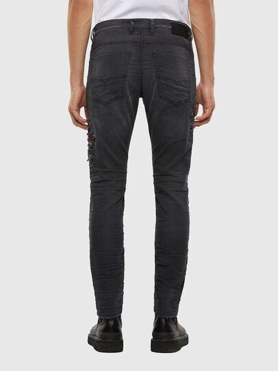 Diesel - Krooley JoggJeans 069RA, Nero/Grigio scuro - Jeans - Image 2