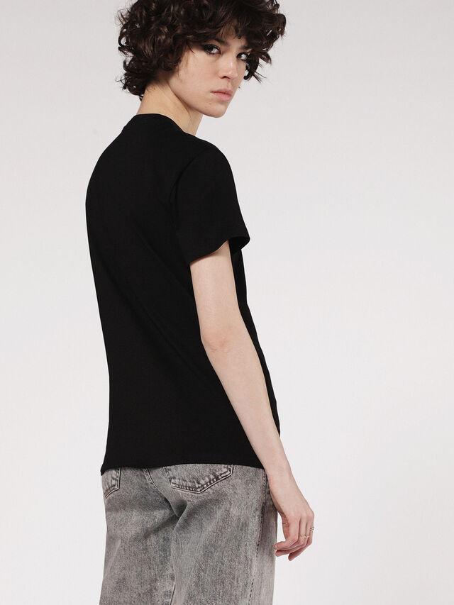 Diesel - T-EXPLO, Nero - T-Shirts - Image 2