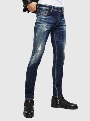 Sleenker 0097L, Blu Scuro - Jeans