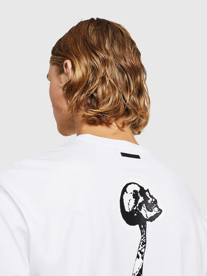 Diesel - TEORIALE-X1, Bianco - T-Shirts - Image 5