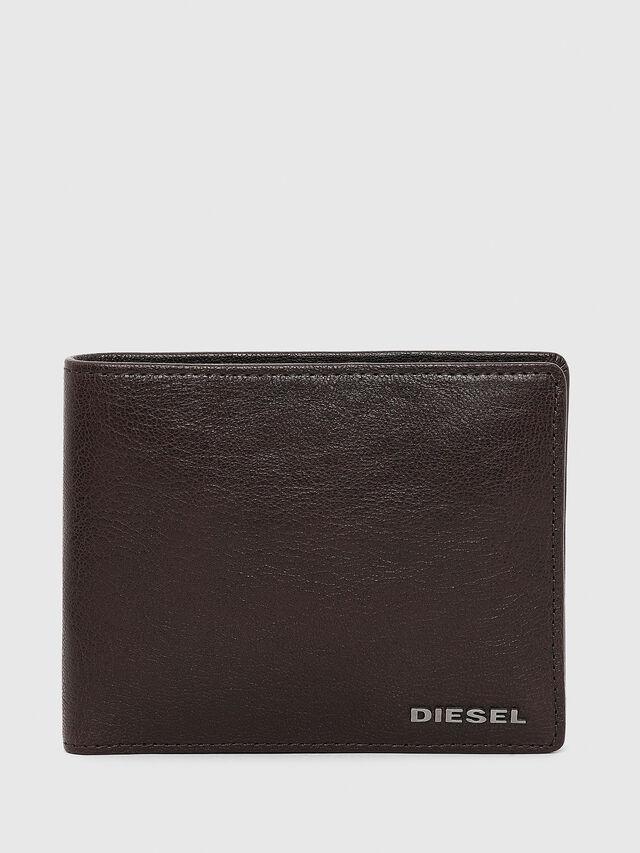Diesel - HIRESH, Marrone - Portafogli Piccoli - Image 1