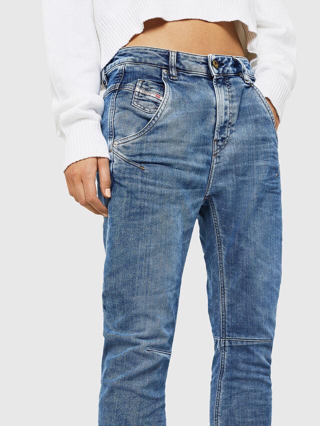 Diesel - Fayza JoggJeans 0870K, Blu Chiaro - Jeans - Image 3