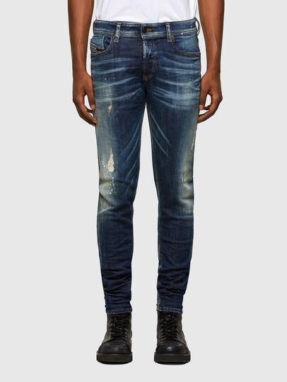Diesel - Sleenker 0097L, Blu Scuro - Jeans - Image 1