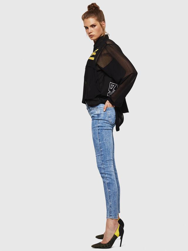 Diesel - Gracey JoggJeans 0870P, Blu Chiaro - Jeans - Image 6