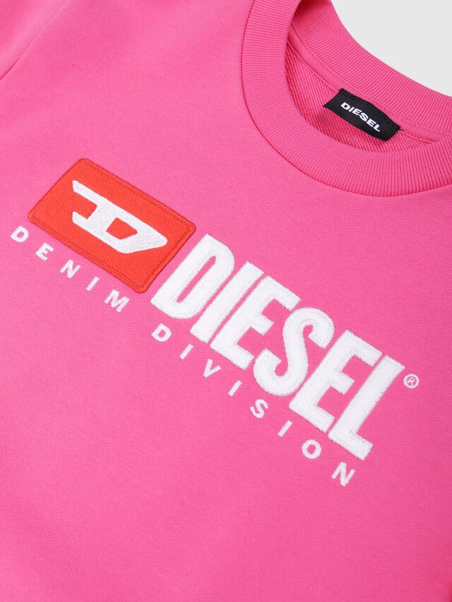 Diesel - SCREWDIVISION OVER, Fucsia - Felpe - Image 3