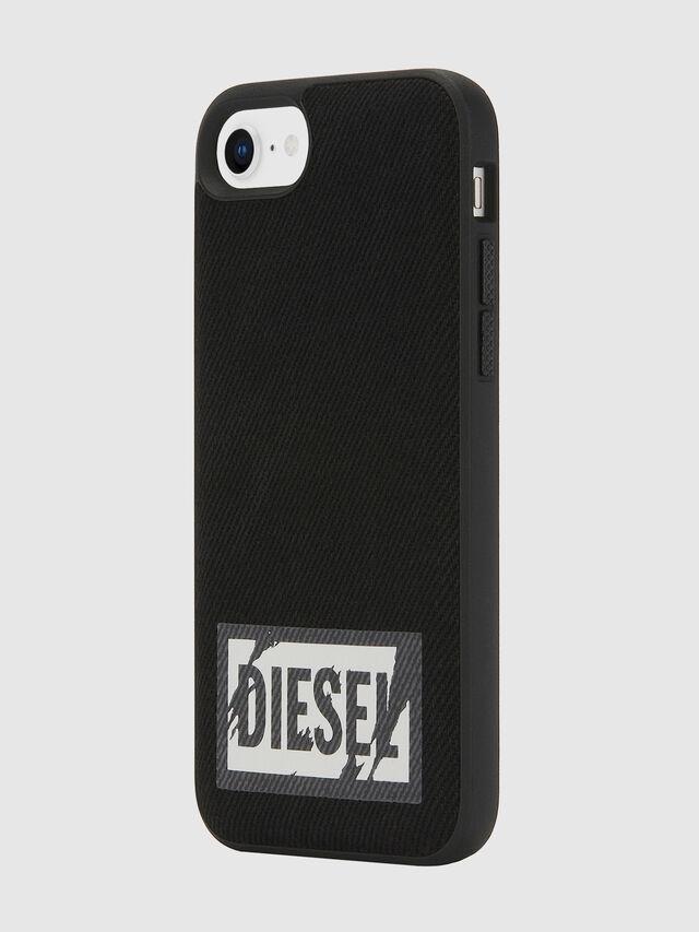 Diesel - BLACK DENIM IPHONE 8/7/6S/6 CASE, Nero - Cover - Image 6