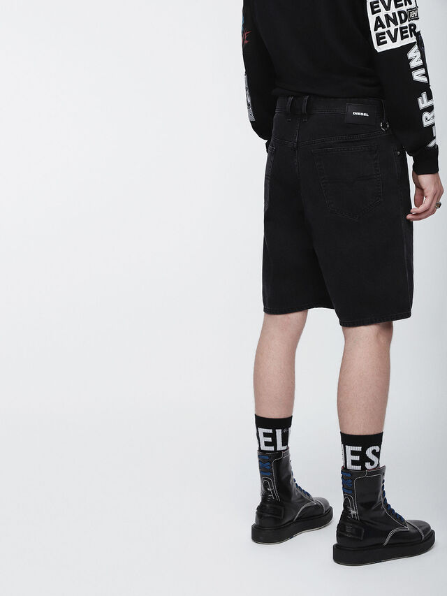 Diesel - D-WILLOH, Nero - Shorts - Image 3