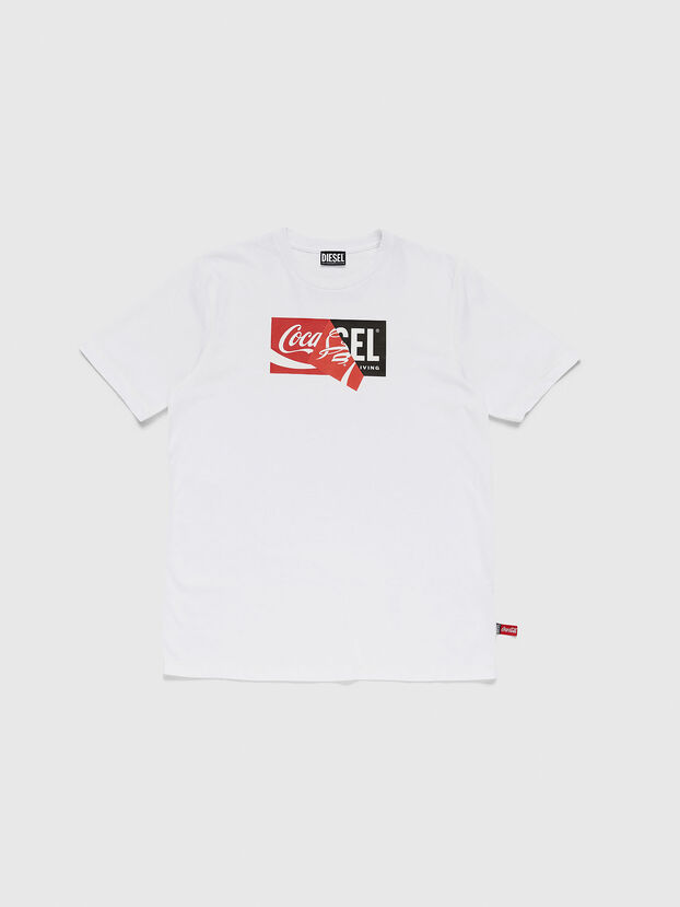 CC-T-JUST-COLA, Bianco - T-Shirts