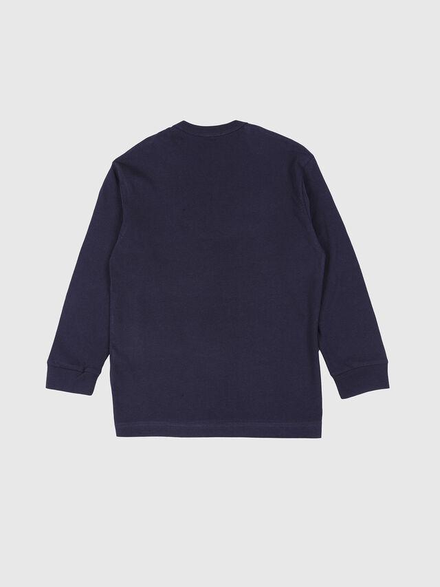 Diesel - TEDRI OVER, Blu Navy - T-shirts e Tops - Image 2