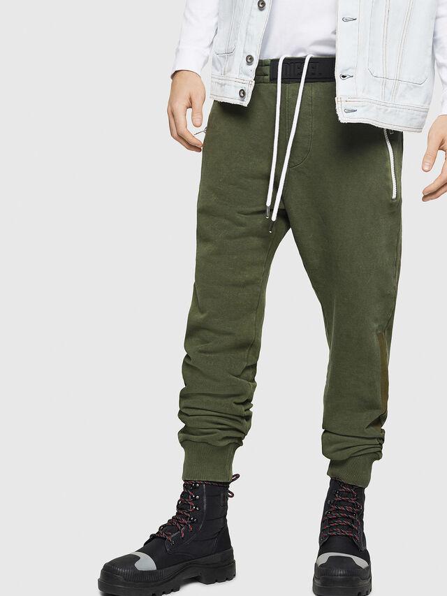 Diesel - P-TA, Verde Scuro - Pantaloni - Image 1